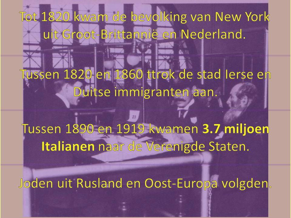 Tussen 1820 en 1860 ttrok de stad Ierse en Duitse immigranten aan.