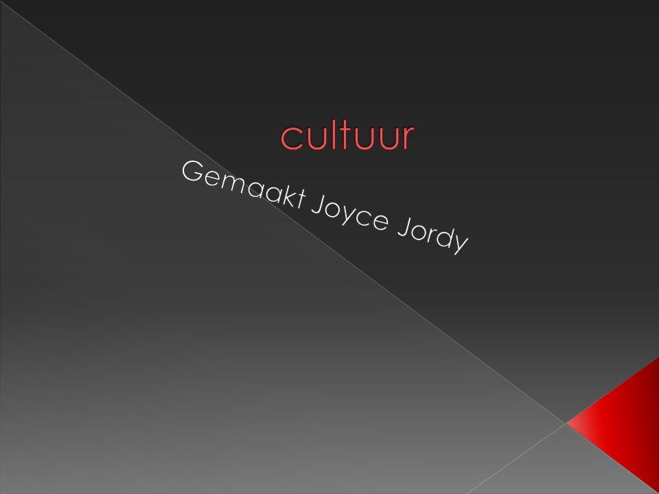 cultuur Gemaakt Joyce Jordy