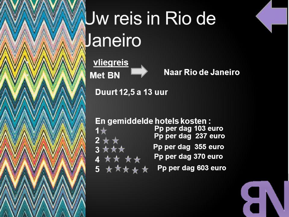 Uw reis in Rio de Janeiro