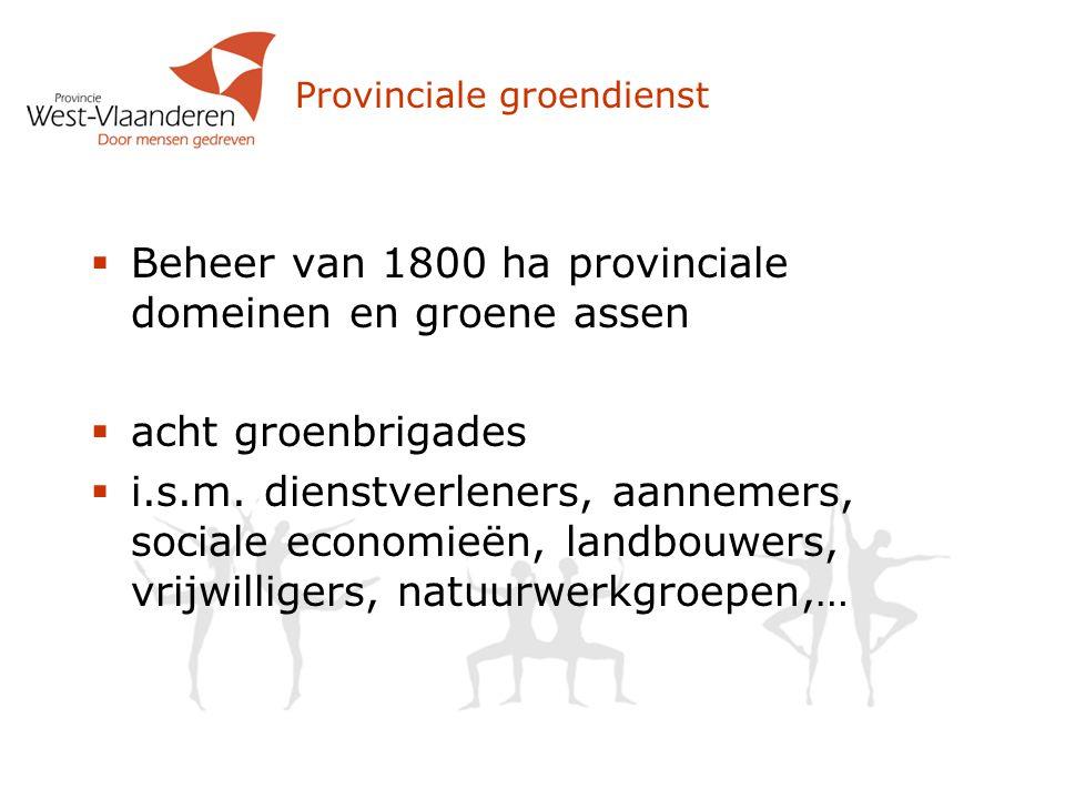 Provinciale groendienst
