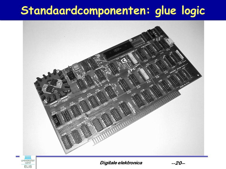 Standaardcomponenten: glue logic