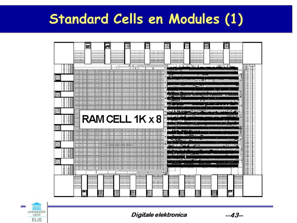 Standard Cells en Modules (1)