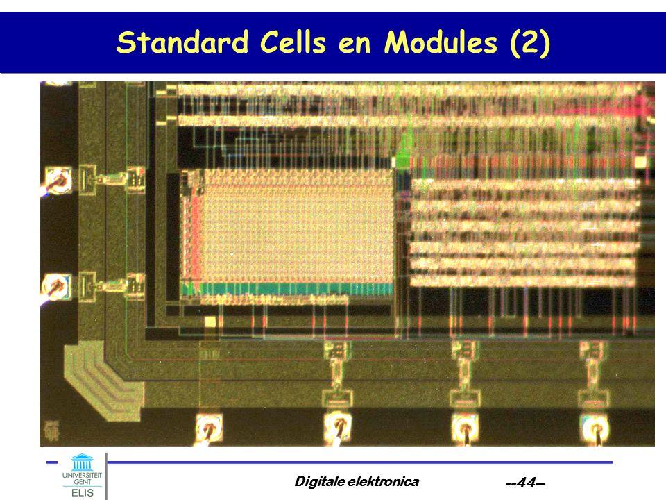 Standard Cells en Modules (2)