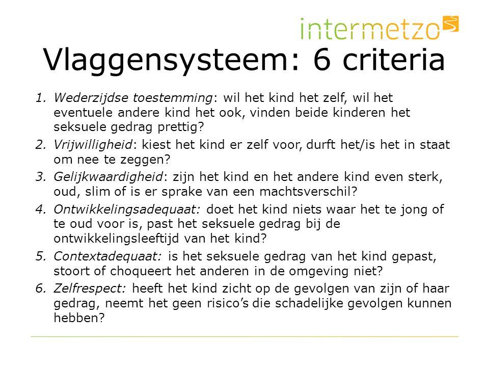 Vlaggensysteem: 6 criteria