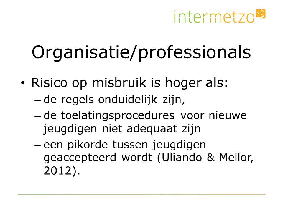 Organisatie/professionals