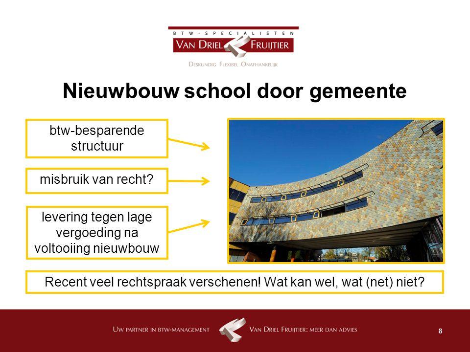 Nieuwbouw school door gemeente