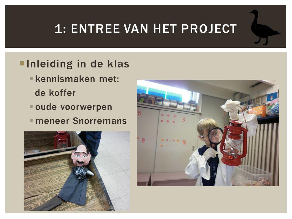 1: Entree van het project