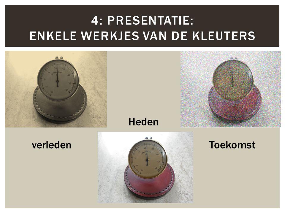 4: Presentatie: Enkele werkjes van de kleuters