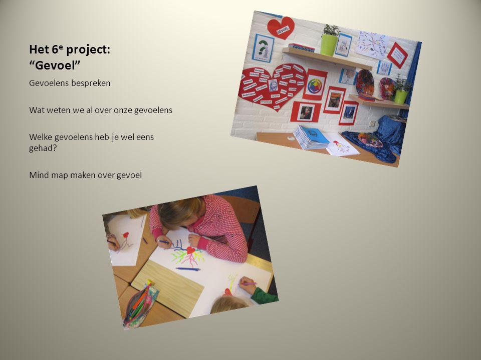 Het 6e project: Gevoel