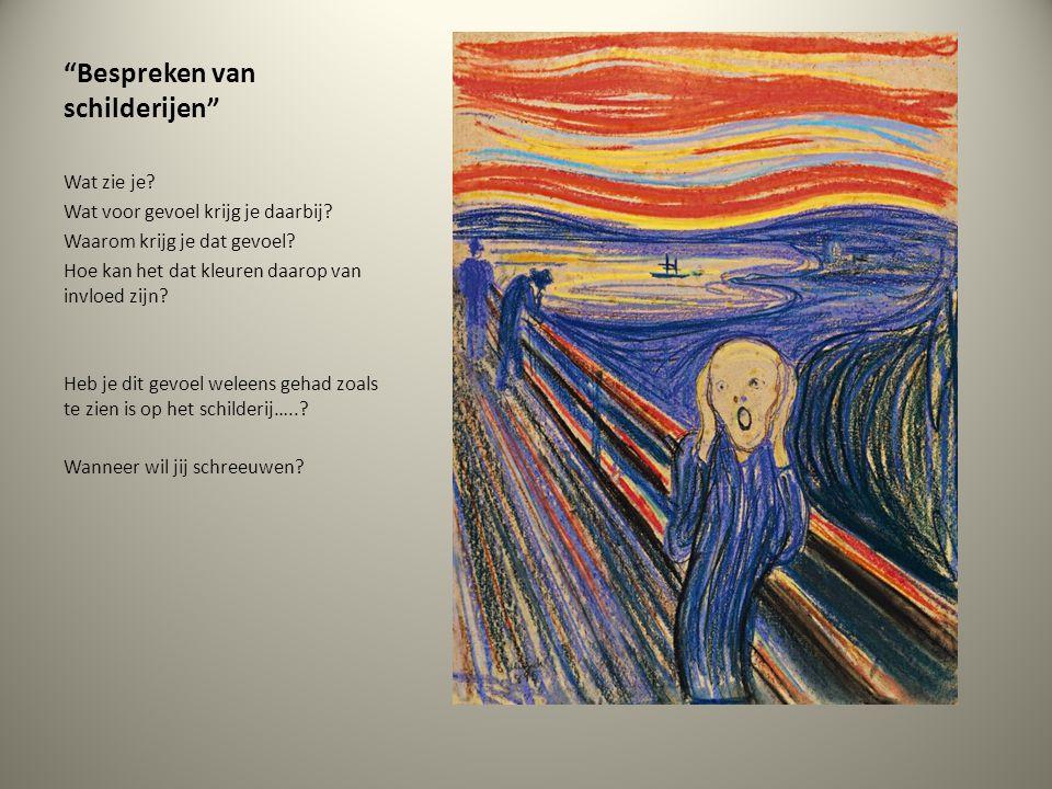Bespreken van schilderijen