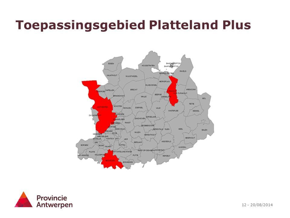 Toepassingsgebied Platteland Plus