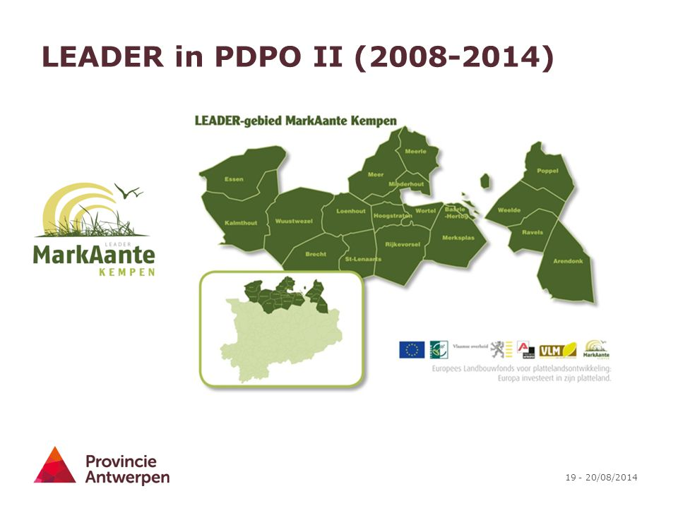 LEADER in PDPO II (2008-2014)