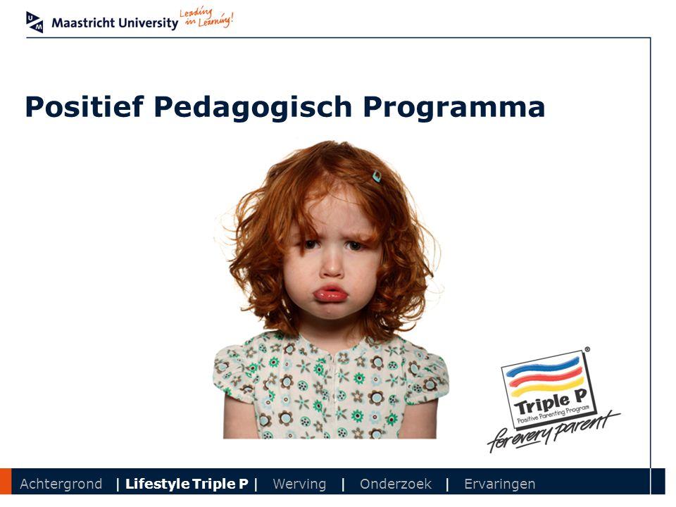 Positief Pedagogisch Programma