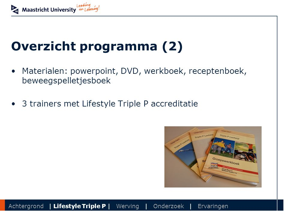 Overzicht programma (2)