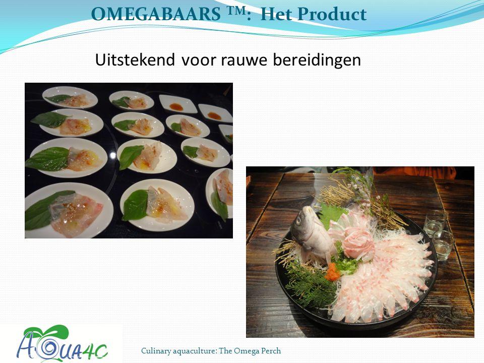 OMEGABAARS TM: Het Product Uitstekend voor rauwe bereidingen