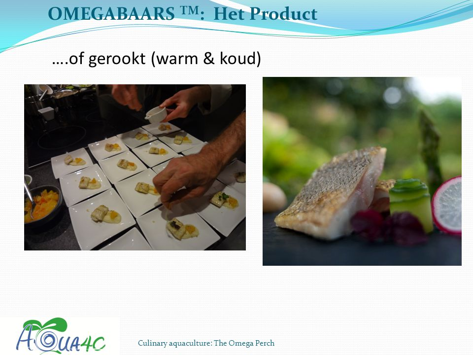 OMEGABAARS TM: Het Product ….of gerookt (warm & koud)