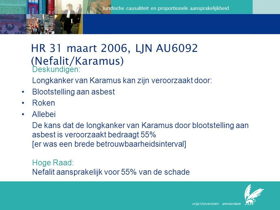 HR 31 maart 2006, LJN AU6092 (Nefalit/Karamus)