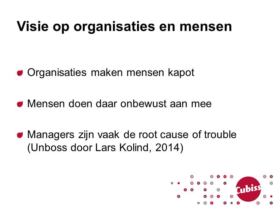 Visie op organisaties en mensen
