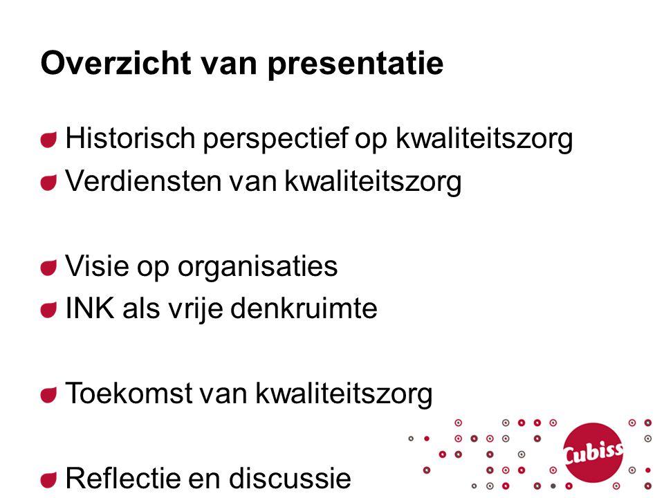 Overzicht van presentatie