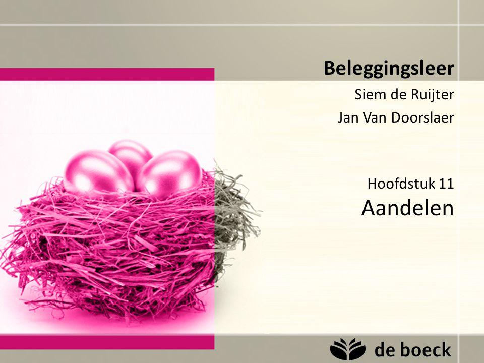 Beleggingsleer Siem de Ruijter Jan Van Doorslaer