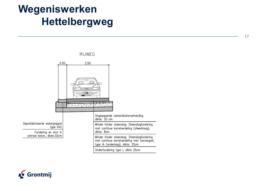 Wegeniswerken Hettelbergweg