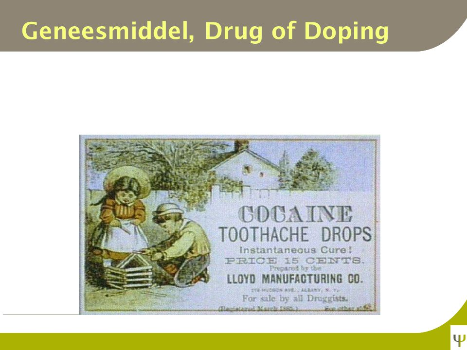 Geneesmiddel, Drug of Doping