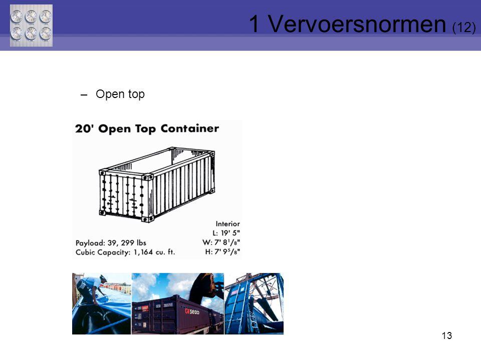 1 Vervoersnormen (12) Open top