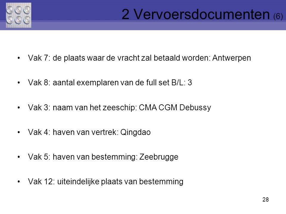 2 Vervoersdocumenten (6)