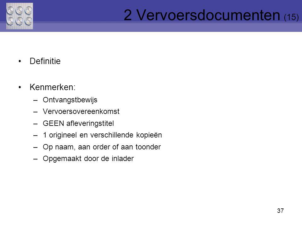 2 Vervoersdocumenten (15)