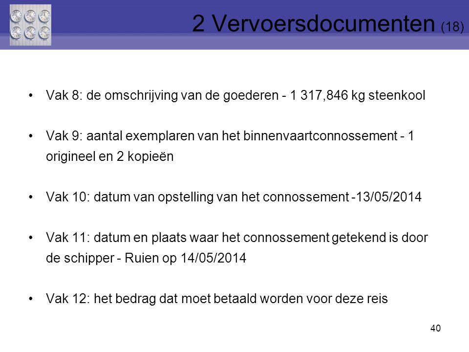 2 Vervoersdocumenten (18)