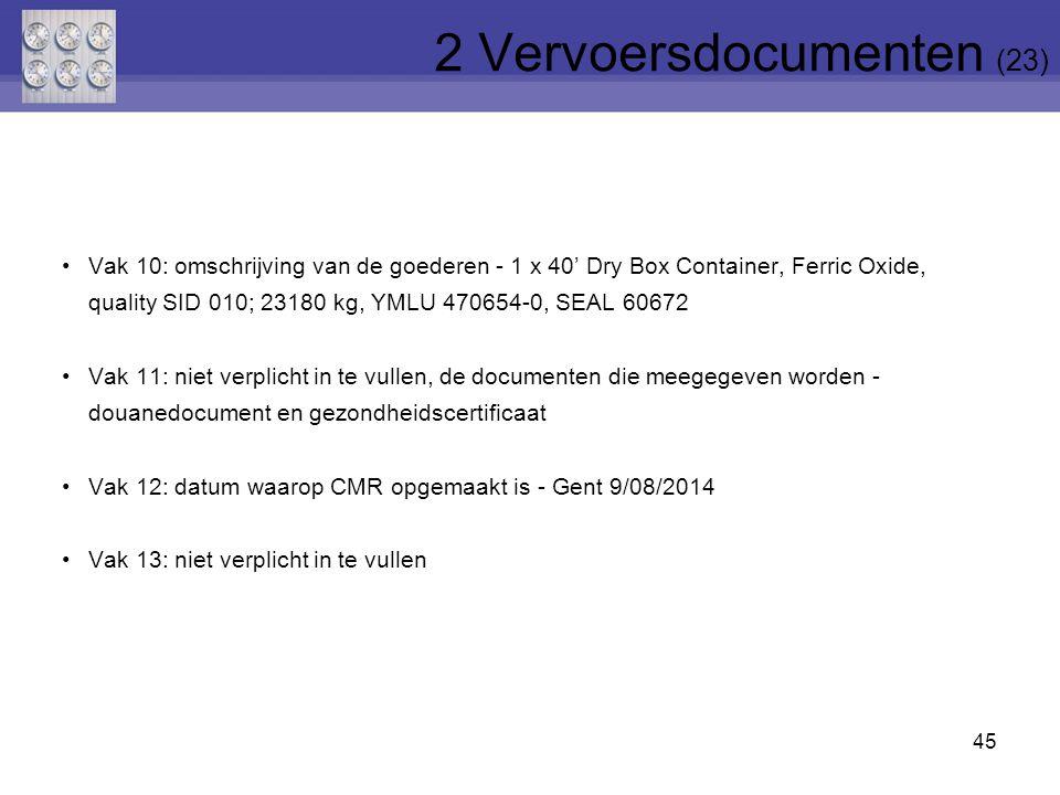 2 Vervoersdocumenten (23)