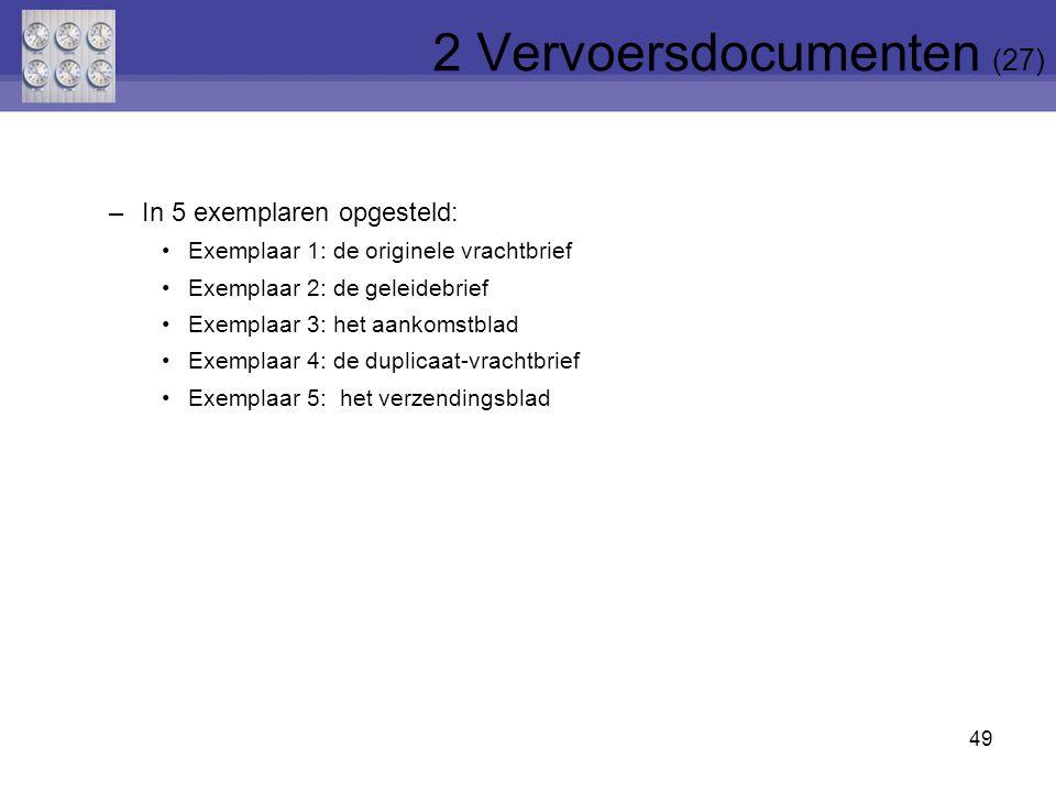 2 Vervoersdocumenten (27)
