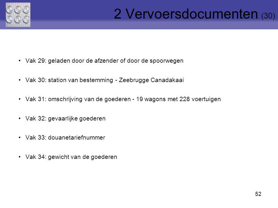 2 Vervoersdocumenten (30)