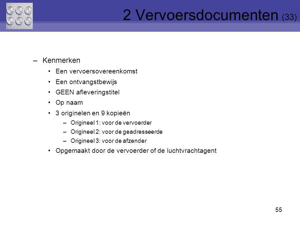 2 Vervoersdocumenten (33)