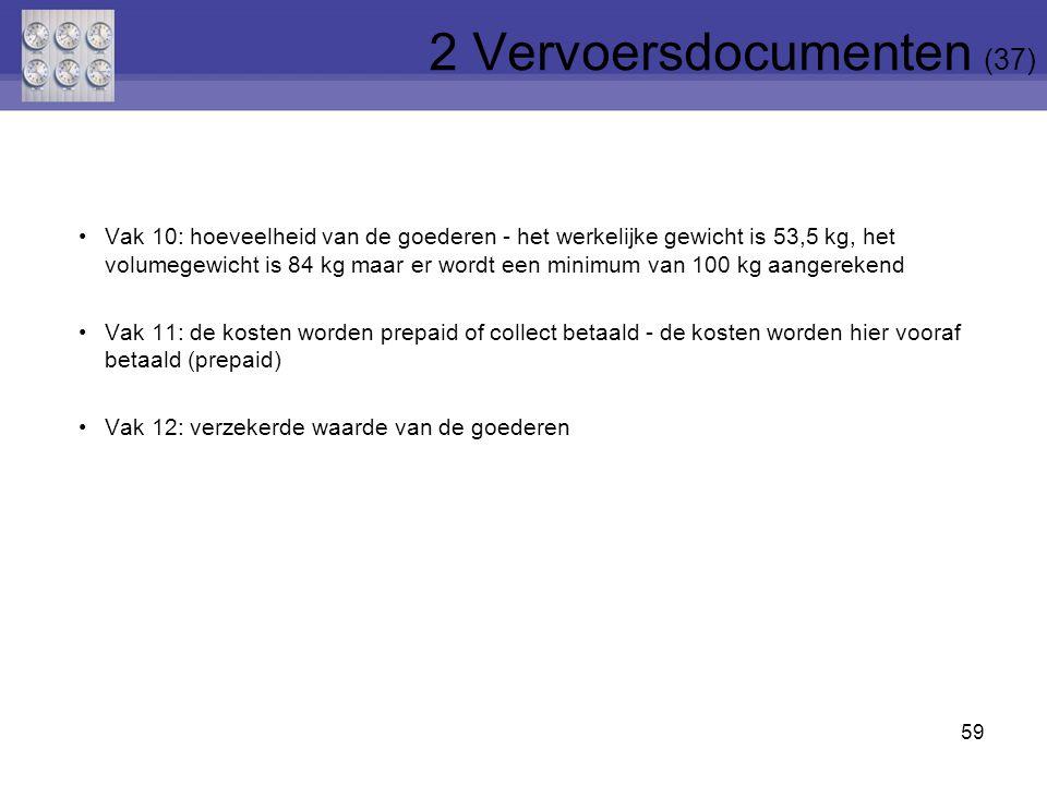 2 Vervoersdocumenten (37)