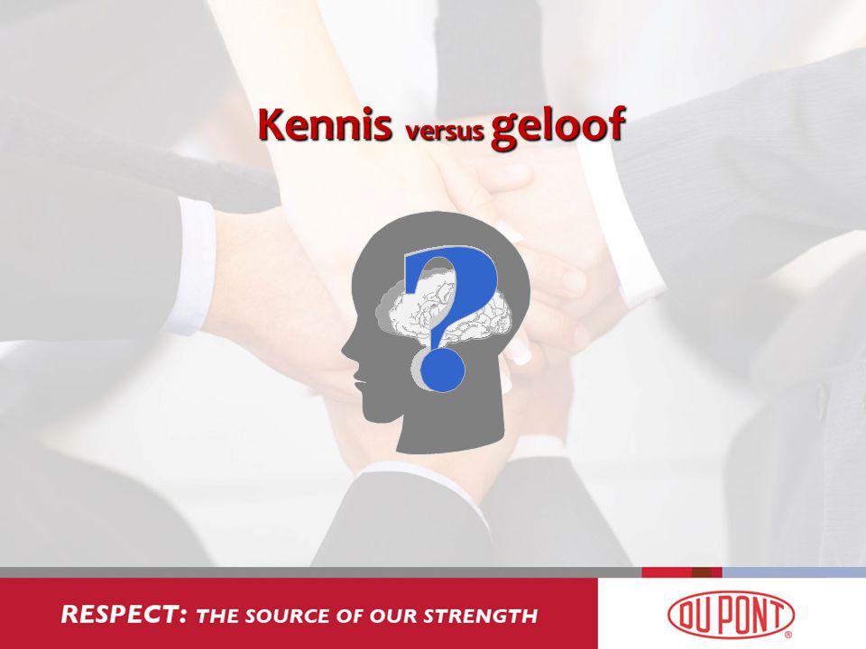 Kennis versus geloof