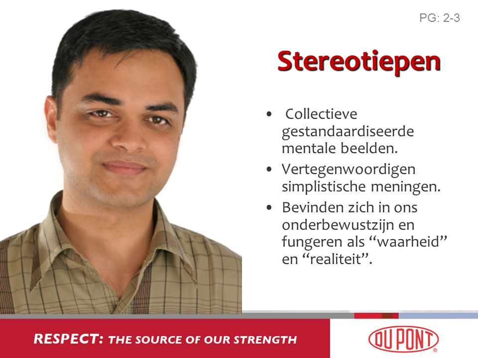 Stereotiepen Collectieve gestandaardiseerde mentale beelden.