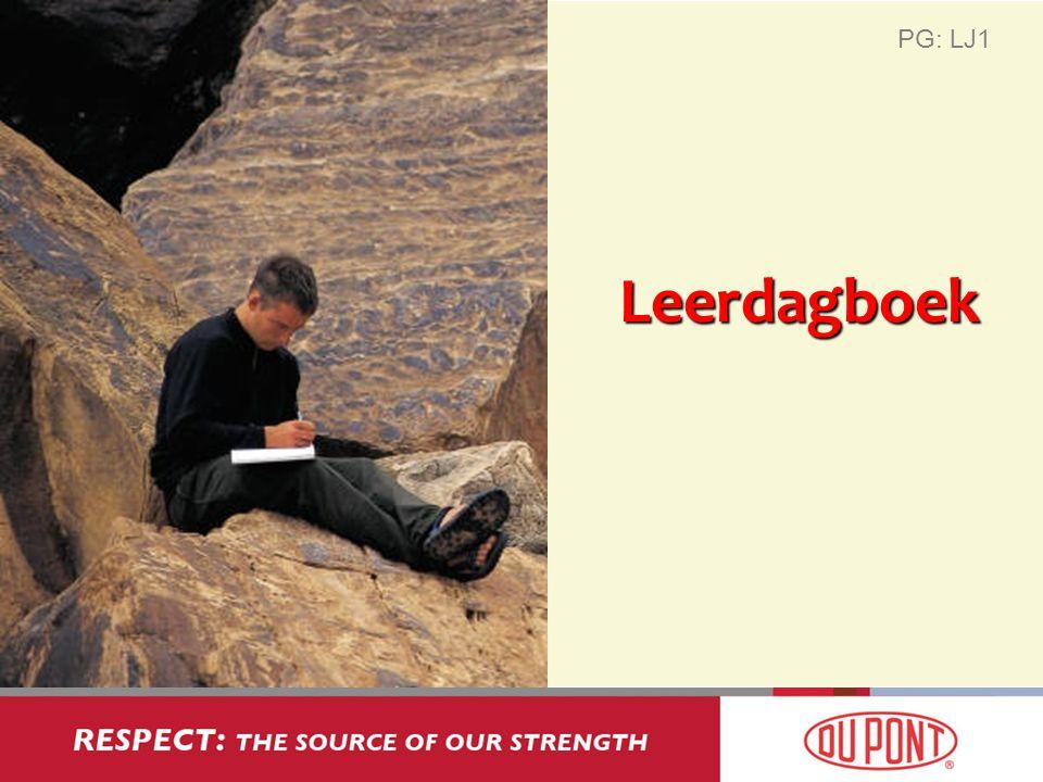 PG: LJ1 Leerdagboek