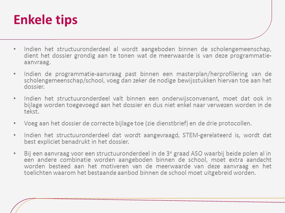 Enkele tips