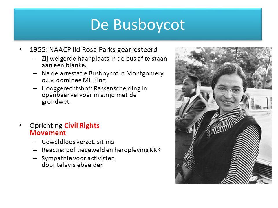De Busboycot 1955: NAACP lid Rosa Parks gearresteerd