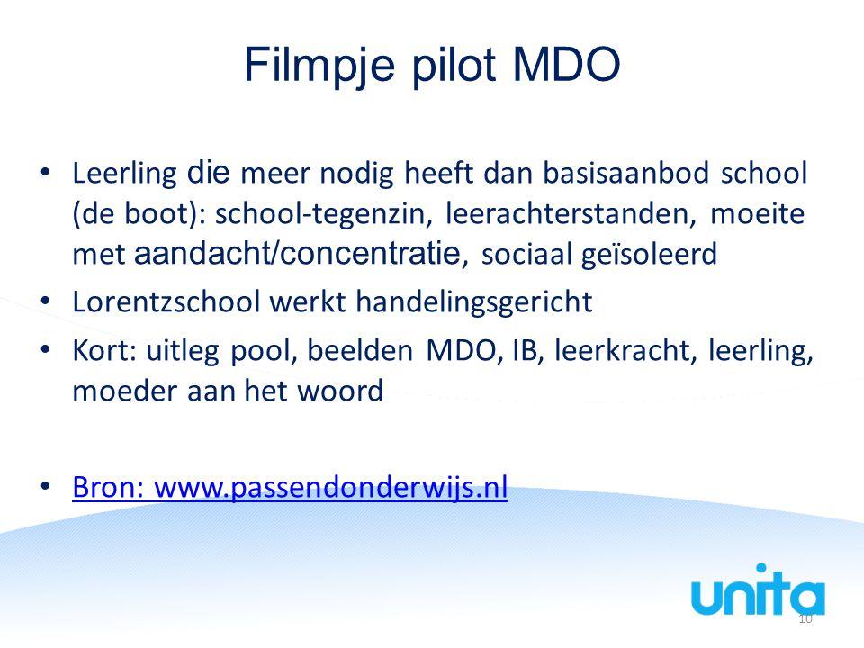 Filmpje pilot MDO