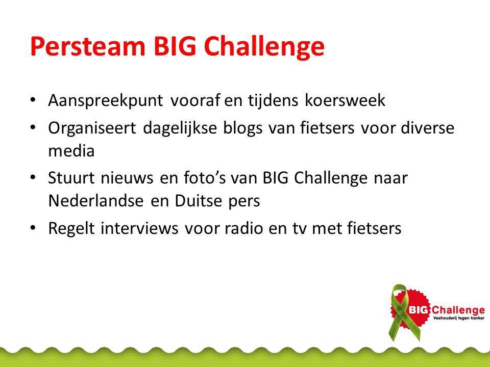 Persteam BIG Challenge