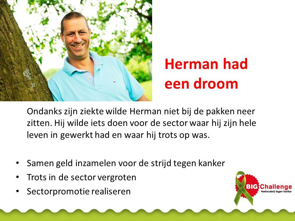 Herman had een droom