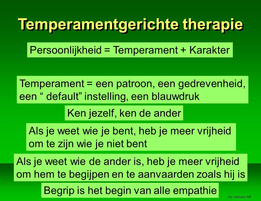 Temperamentgerichte therapie