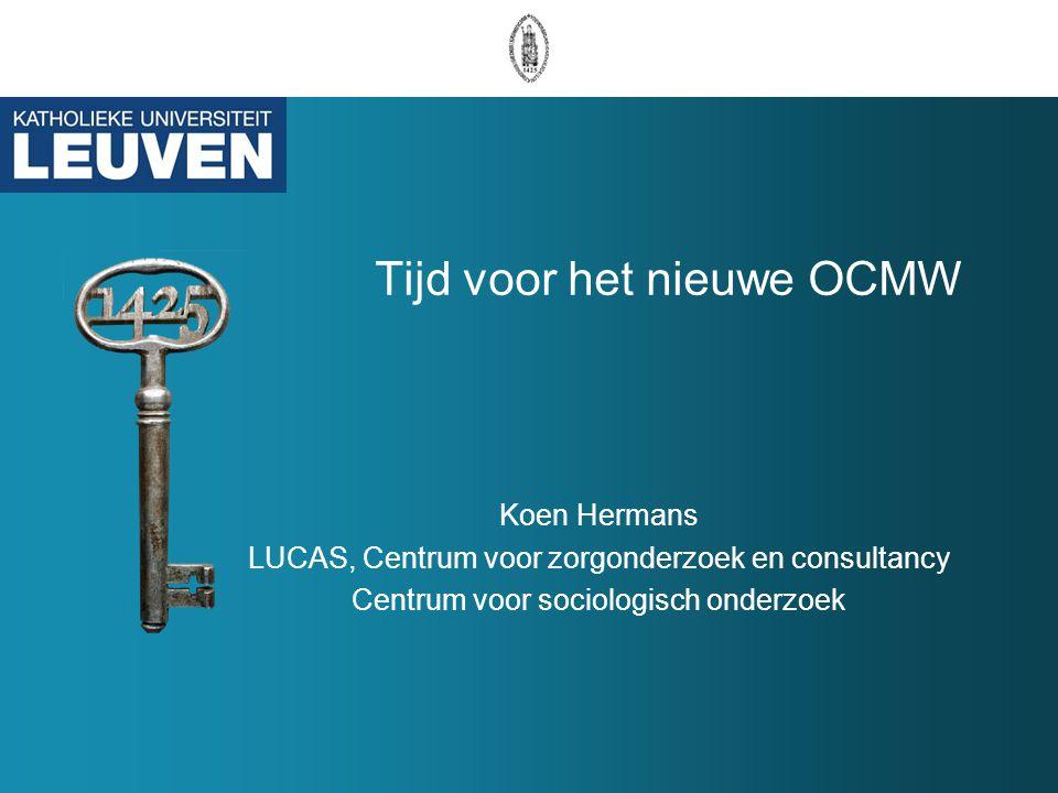 Tijd voor het nieuwe OCMW