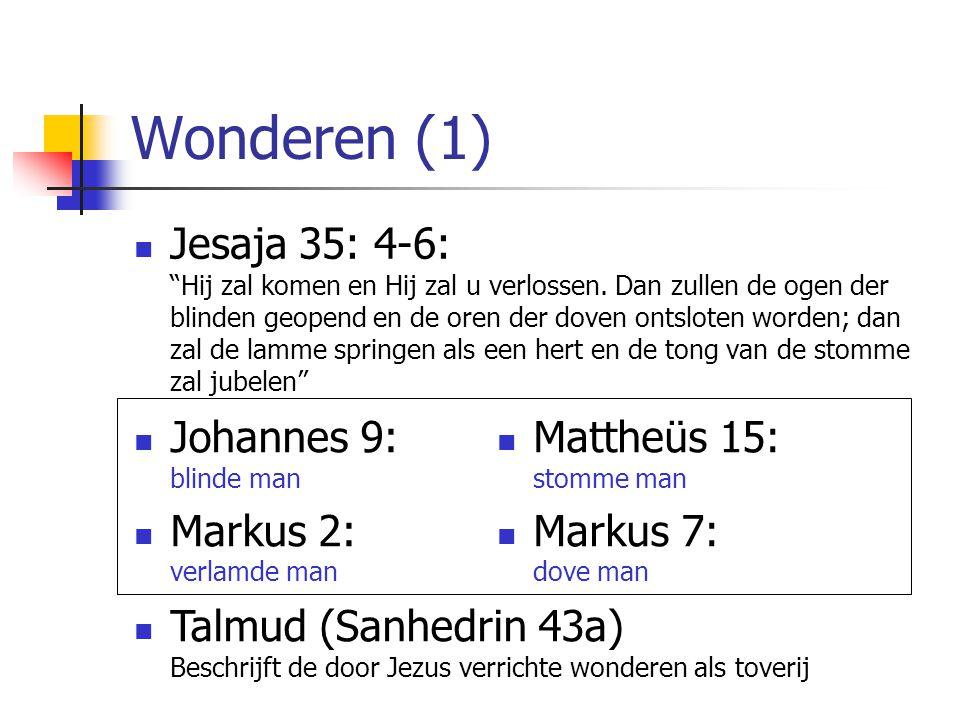 Wonderen (1)
