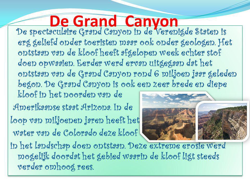 De Grand Canyon