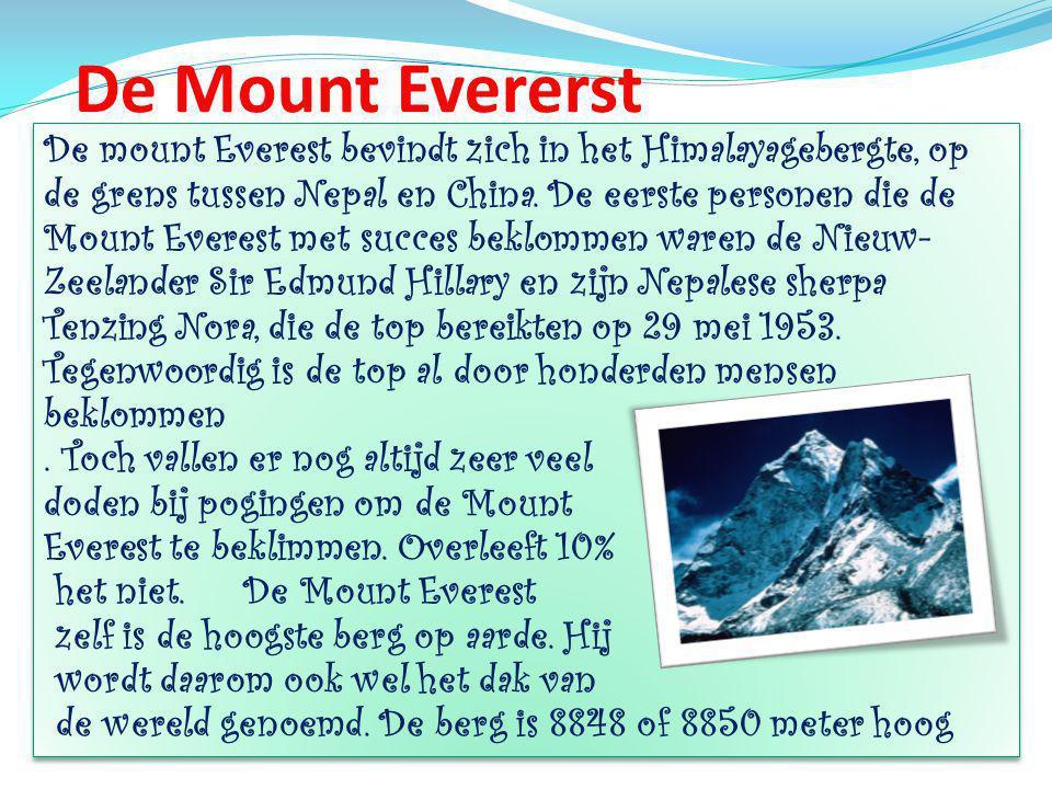 De Mount Evererst