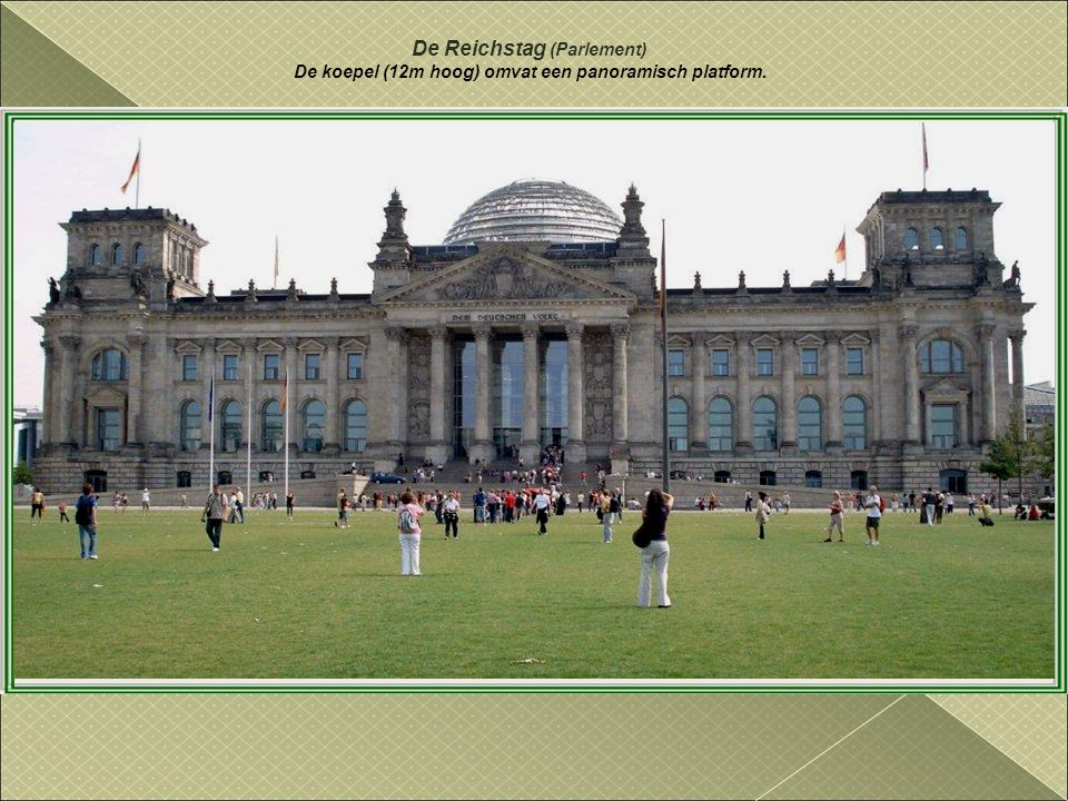 De Reichstag (Parlement)