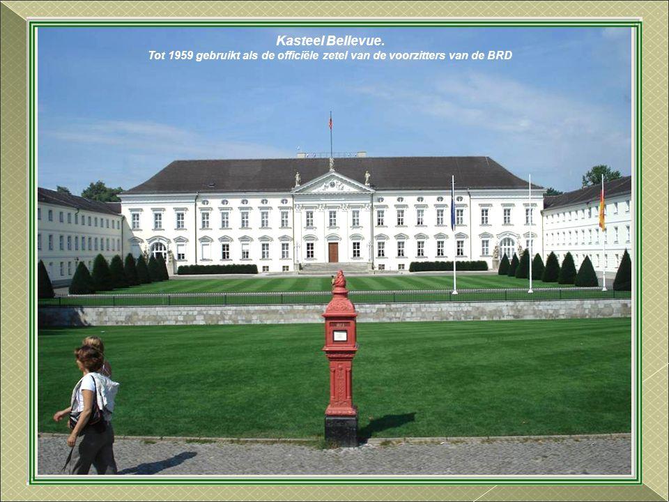 Tot 1959 gebruikt als de officiële zetel van de voorzitters van de BRD